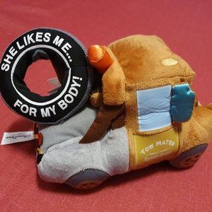 Disney's Car Pixar Tow Mater Plush New with Tag